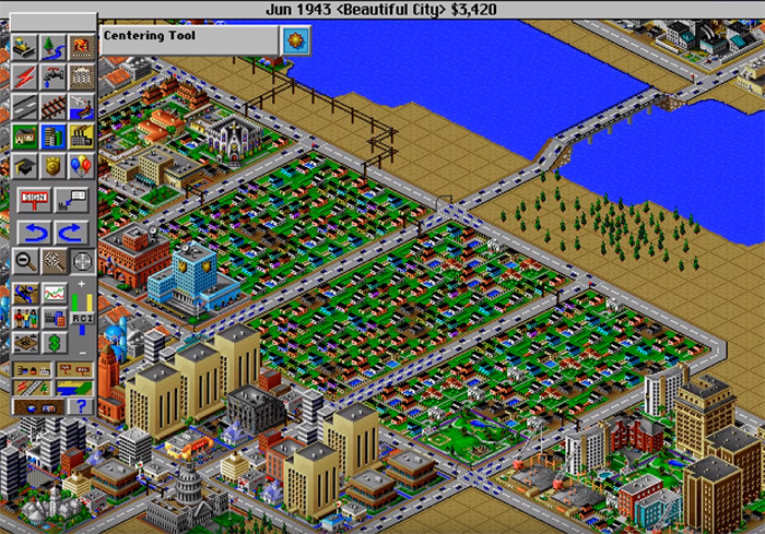 Simcity 2000 gameplay