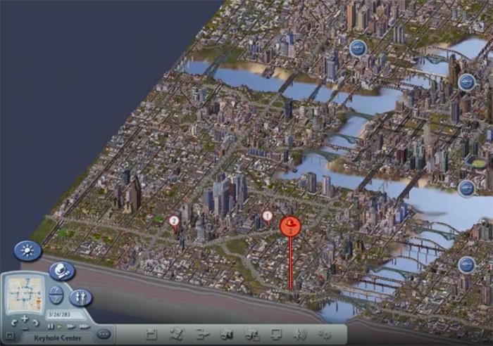 sim city 4 rush hour gameplay