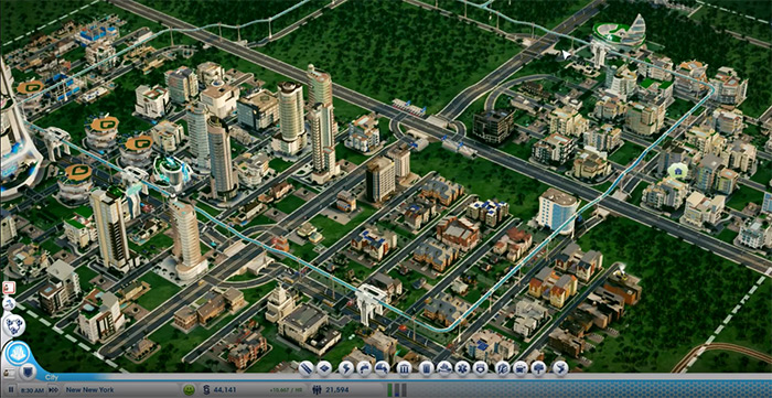 simcity cities of tomorrow gameplay
