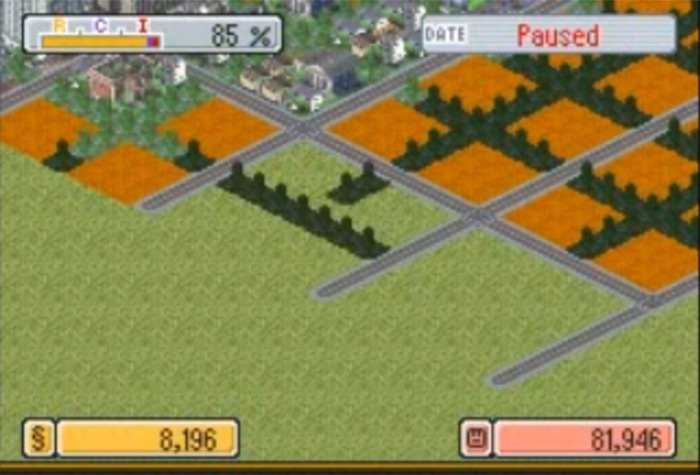 simcity ds gameplay