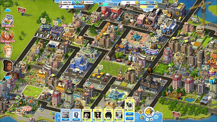 simcity social gameplay