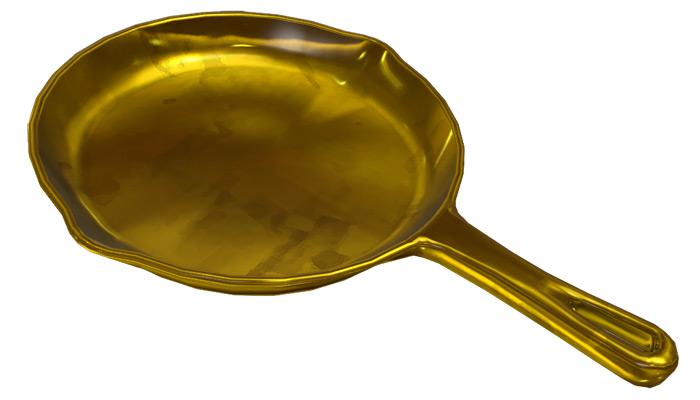 Golden Frying Pan tf2 weapon