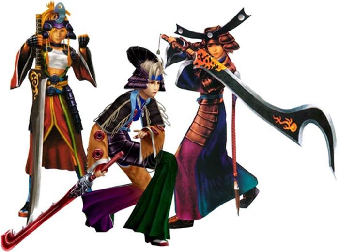 Samurai dressphere ffx2