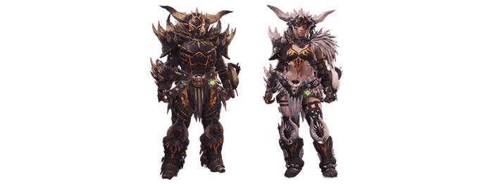 Nergigante armor sets mhw