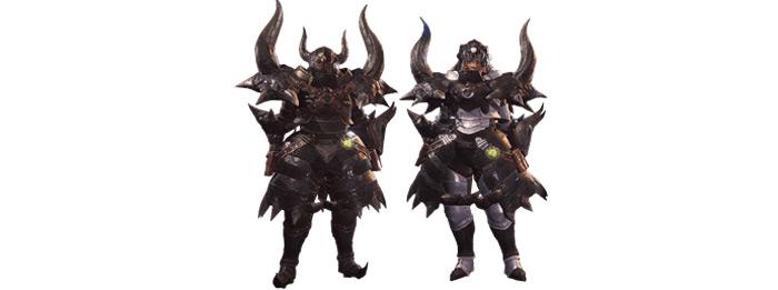 Diablos Nero MHW armor