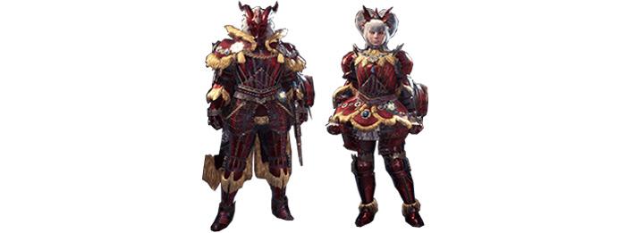 Teostra MHW armor set
