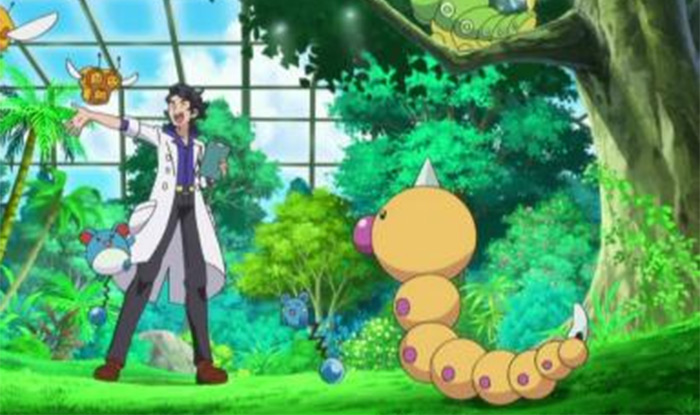 Weedle anime monster