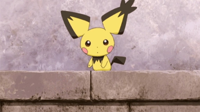 Pichu from anime