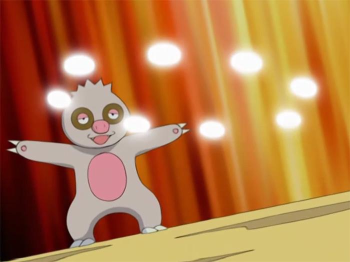 Slakoth from the anime