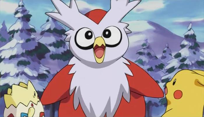 Delibird anime pokemon