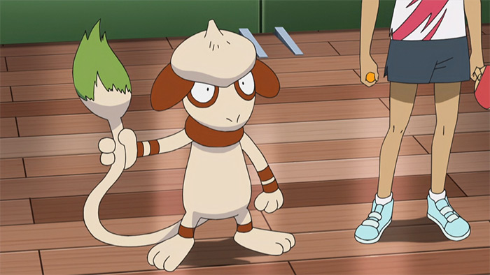 Smeargle in the anime