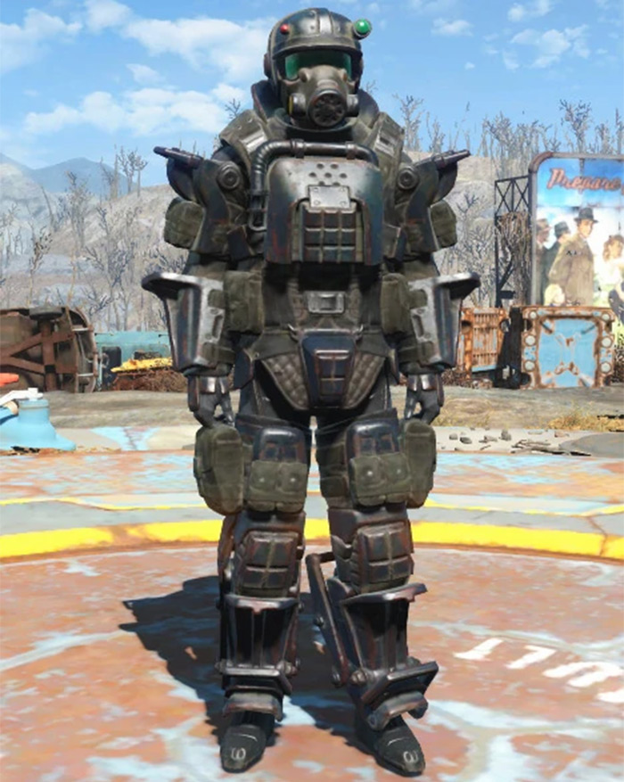 Fallout 4 Marine Assault Armor