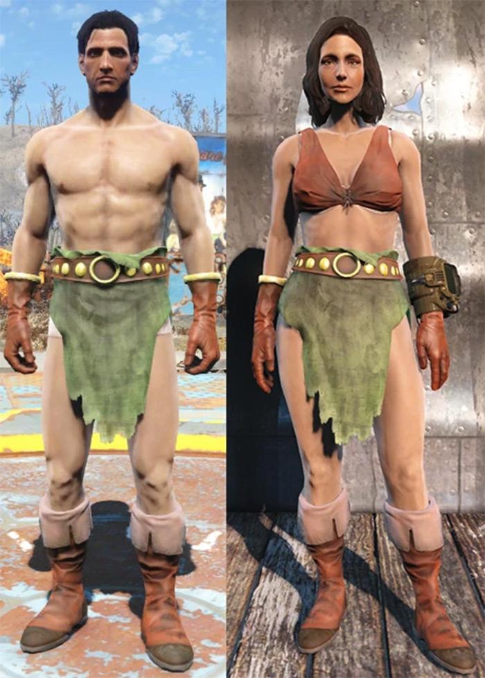 Fallout4 Grognak costume
