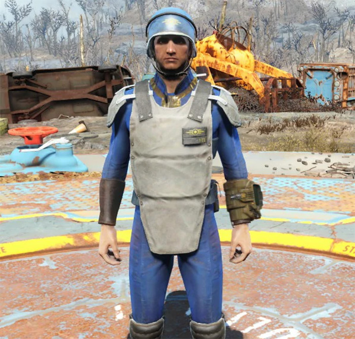 Vault-Tec Security F4 Armor