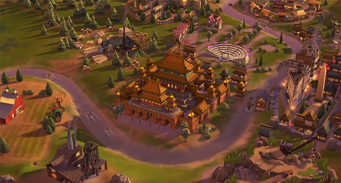 Forbidden City wonder Civ6