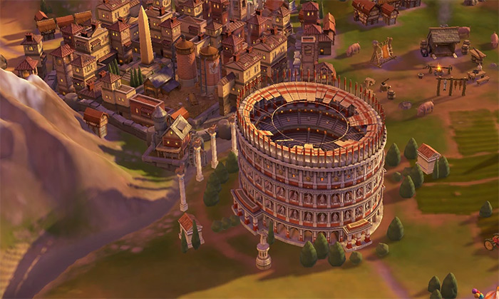 Civ6 Colosseum wonder