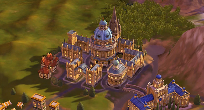 Oxford University in Civ6