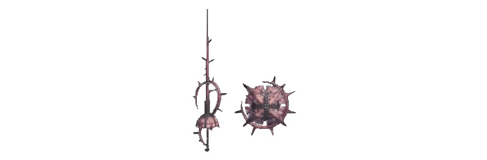 Royal Rose sword shield MHW weapons