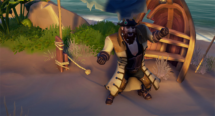 Rogue Sea Dog outfits sea of thieves
