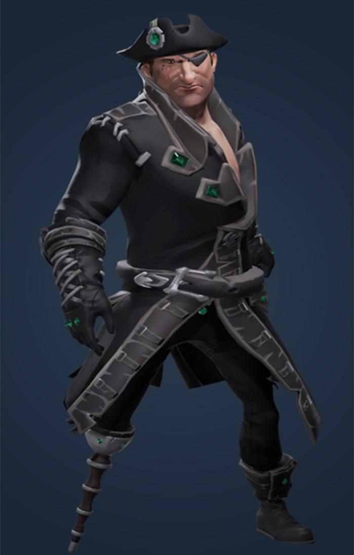 Black Dog outfit set
