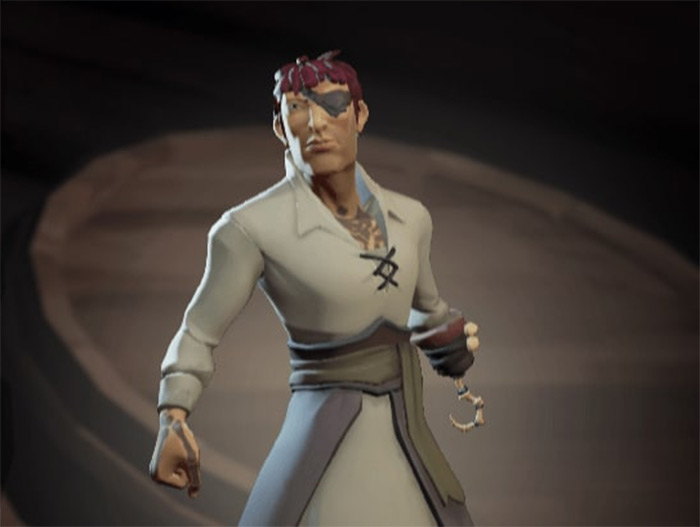 The Sailor Set default Sea of Thieves outfit
