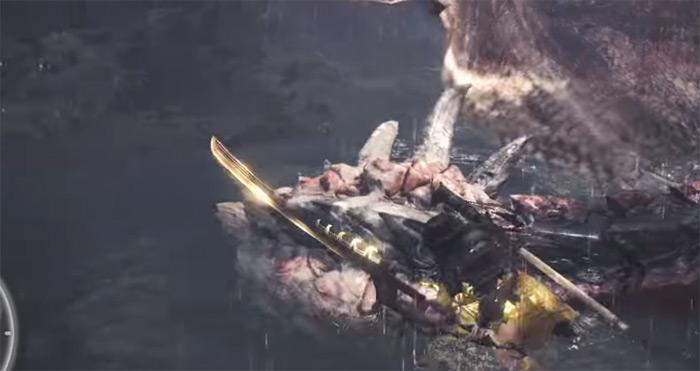 Kjarr Sword decay MHW