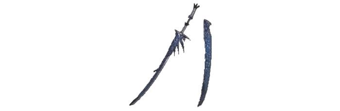 Wyvern Blade Indigo MHW
