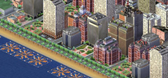 SimCity 3000 big port city