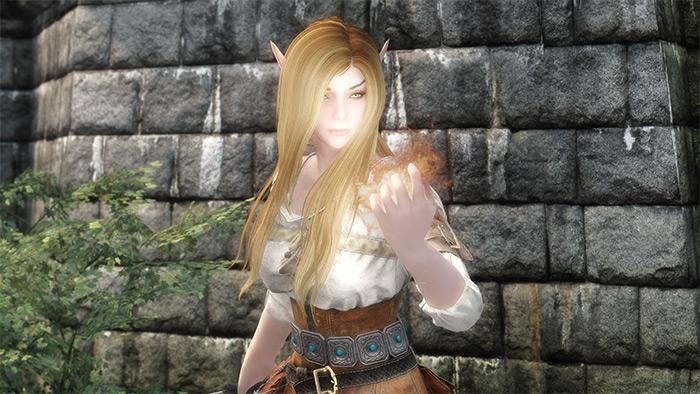Actually Attractive Elves Skyrim