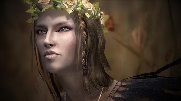 Superior Lore-Friendly Hair in Skyrim