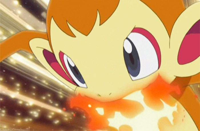 Chimchar fire starter