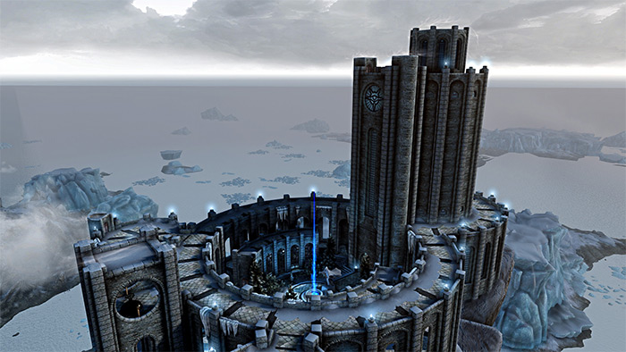 Immersive College of Winterhold Skyrim mod