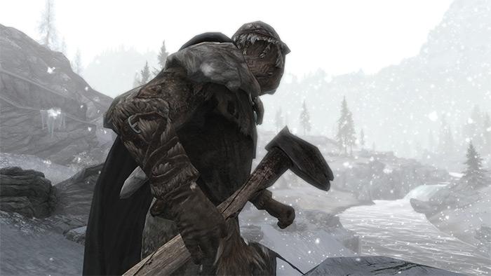 Frostfall Skyrim mod
