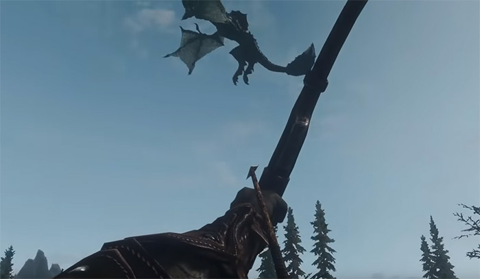 Dragon Combat Overhaul Skyrim mod