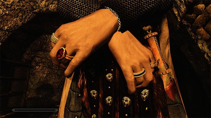 Immersive Jewelry Skyrim mod