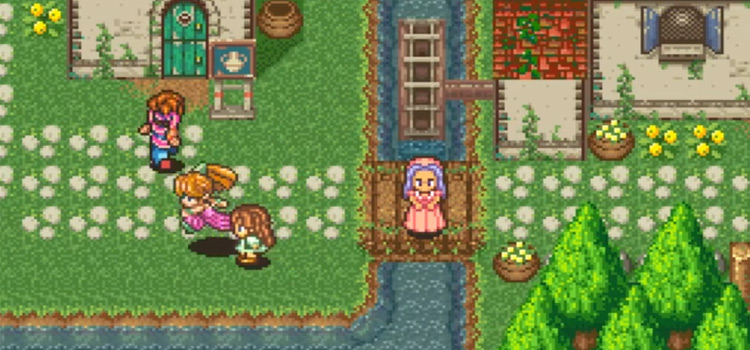 Secret of Mana town village