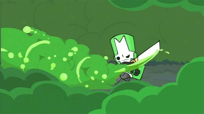 Green Knight Castle Crashers