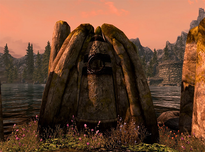 Lady Stone in Skyrim