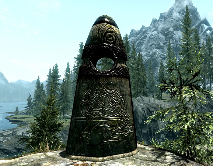 Warrior Stone in Skyrim