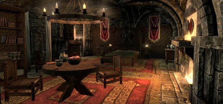 Skyrim - interior castle mod