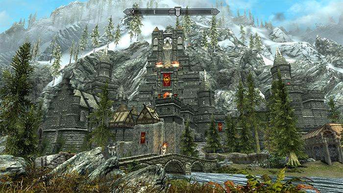 Castle Draco Skyrim mod