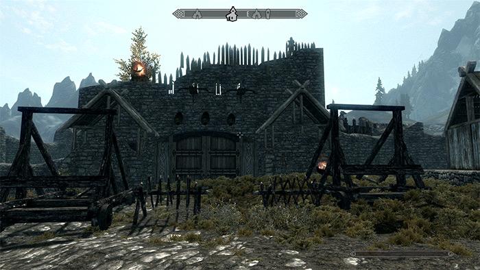 Castle Argol Skyrim mod