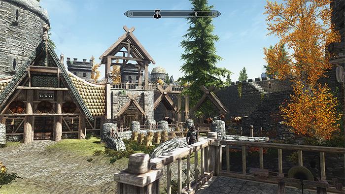Radun Castle Skyrim mod