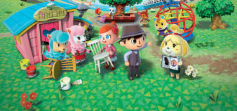 Animal Crossing official town artwork