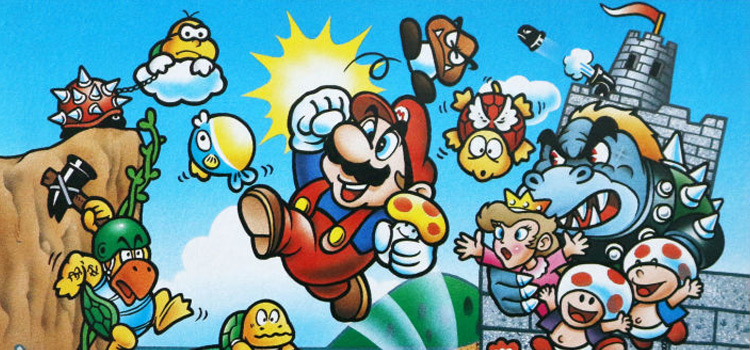 Best Super Mario Bros - official nintendo art