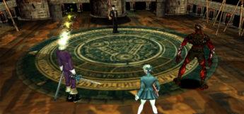 Shadow Hearts 2 battle scene