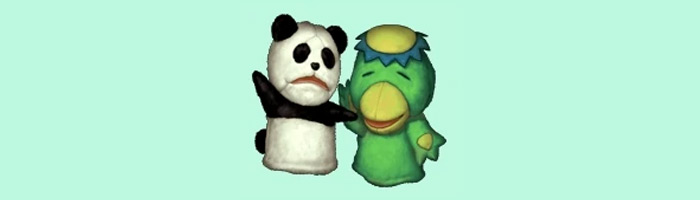 Panda Kappa weapons