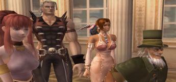 Shadow Hearts Covenant characters, HD screenshot
