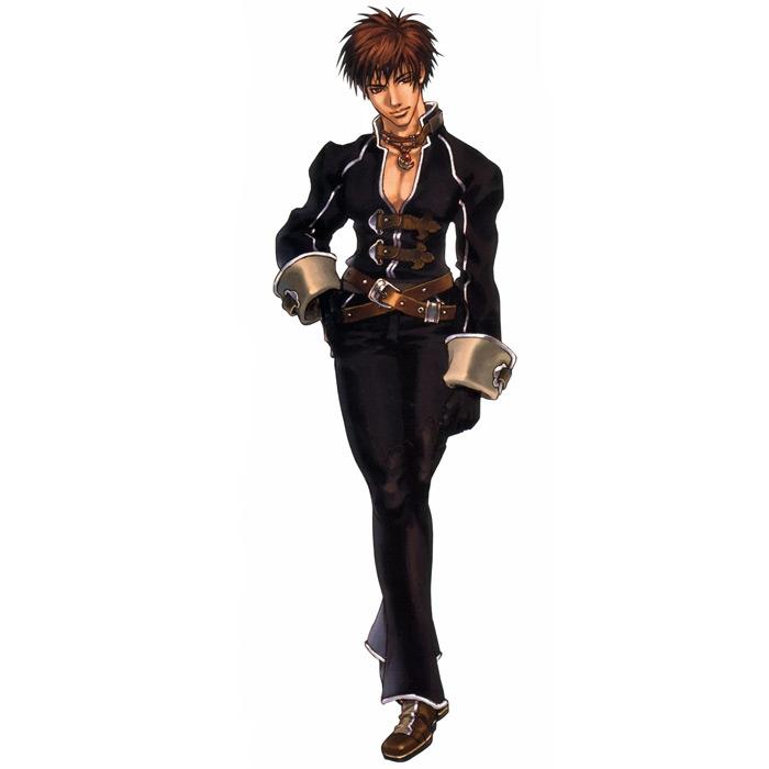 Yuri Hyuga in Shadow Hearts