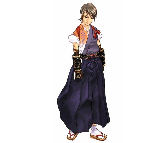 Kurando Inugami in Shadow Hearts